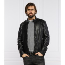Куртка мужская черная TRUSSARDI классическая посадка